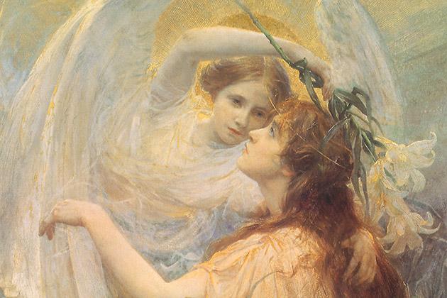 天使のイメージ(名画)