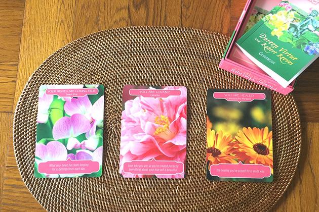 LIGHT WORKS WEB Magazine コラム:フラワーセラピーオラクルカードで春気分。